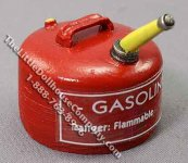 Dollhouse Scale Model Gallon Gasoline Can