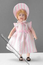 Toddler with Bonnet by Cindy's Dolls