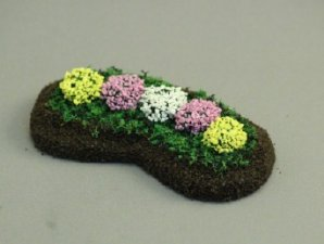 "1/2"" Scale Garden Delight Bed"