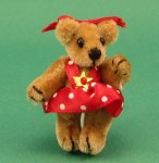 Dollhouse Scale Model Bear
