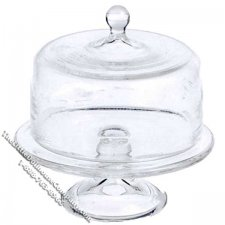 Miniature Medium Domed Cake Stand for Dollhouses
