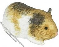 Miniature Guinea Pig for Dollhouses
