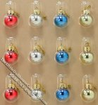 Miniature Christmas Ornaments for Dollhouses