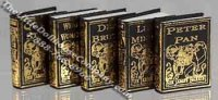 Miniature Reproduction Sir James Barrie Books for Dollhouses
