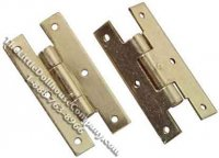 H-Hinges with Nails for Dollhouse Scale Models (4 per pack)