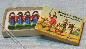 Miniature Toy Soldiers Kit for Dollhouses