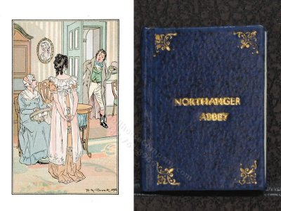 Miniature Book: 'Northanger Abbey'
