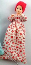 Baby Flexible Doll in Sleeping Bag by Erna Meyer for Dollhouses