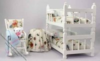 Dollhouse Miniature Bedroom Set for Children