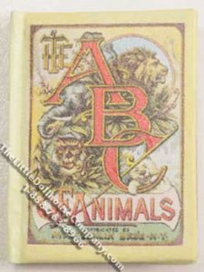 Miniature Book: 'The ABC of Animals'