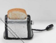 Dollhouse Scale Model Toaster