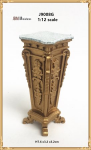 Rectangular Pedestal French Empire Design 1890-1919
