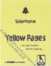 Miniature Replica Telephone Directory for Dollhouses