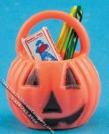 Miniature Filled Pumpkin for Dollhouses