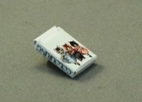Dollhouse Miniature Colouring Pencils Box