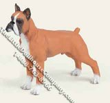 Dollhouse Scale Model Boxer Dog Breed