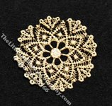 Miniature Multi-Scale Round Laser Cut Doily for Dollhouses
