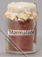 Dollhouse Scale Model Marmalade in Wax Sealed