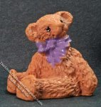 Miniature Resin Teddy Bear for Dollhouses