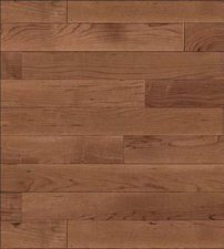 Dollhouse Scale Model Wallpaper - Faux Wood Flooring - Brown
