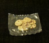 Dollhouse Scale Model Chocolate Chip Cookies (8 pc.)
