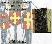 Founders' & Benefactors Book of Tewkesbury Abbey