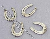 Dollhouse Scale Model Set of Four Horseshoes