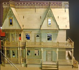 Victorian Farmhouse Laser Cut Dollhouse Kit