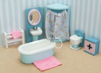 Daisylane Bathroom for Dollhouses