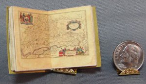 Miniature Blau Atlas, 1661