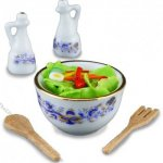 Miniature Salad Making Set for Dollhouses