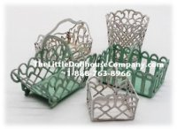 Miniature Baskets Kit for Dollhouses