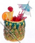 Dollhouse Scale Model Pineapple Fruit Punch