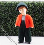Andi Flexible Boy Doll by Erna Meyer for Dollhouses