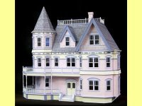 Real Good Toys HS6600, Queen Anne Dollhouse Kit