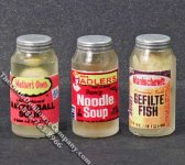 Miniature Jar of Kosher Food for Dollhouses (1/pk)