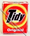 Miniature Box of Tidy Laundry Detergent for Dollhouses