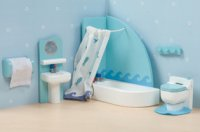 Sugarplum Bathroom for Dollhouses