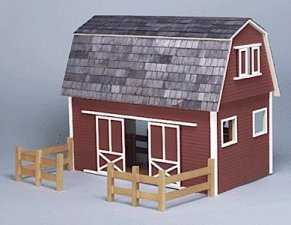 Real Good Toys Barn Kit, Ruff and Rustic