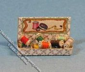 Miniature Thread Box Kit for Dollhouses