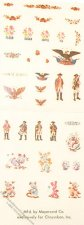 Dollhouse Scale Model Assorted Mini-Decals