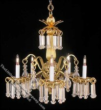 Dollhouse Scale Model Victoria Chandelier