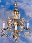 Dollhouse Scale Model Serenade Chandelier