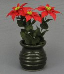 Dollhouse Miniature Poinsettia