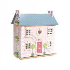 Bay Tree Dollhouse with 5 Rooms of Daisylane Furniture