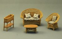 "1/2"" Scale Garden Furniture Set"