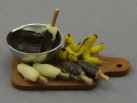 Dollhouse Scale Model Food Display