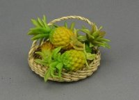 Dollhouse Scale Model Pineapples