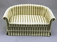 Dollhouse Miniature Sofa by Judith Blondell
