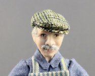 English Gentleman Cap by Judith Blondell